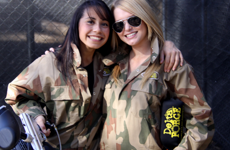 paintball combat babes